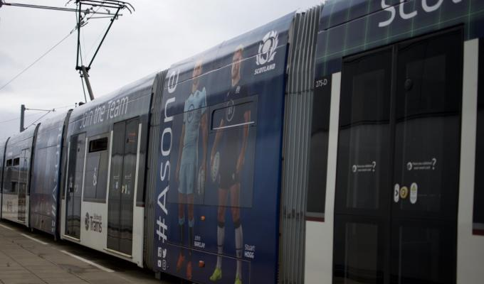 Scottish Rugby Tram