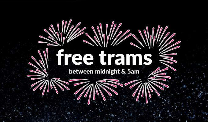 Free Trams on Hogmanay