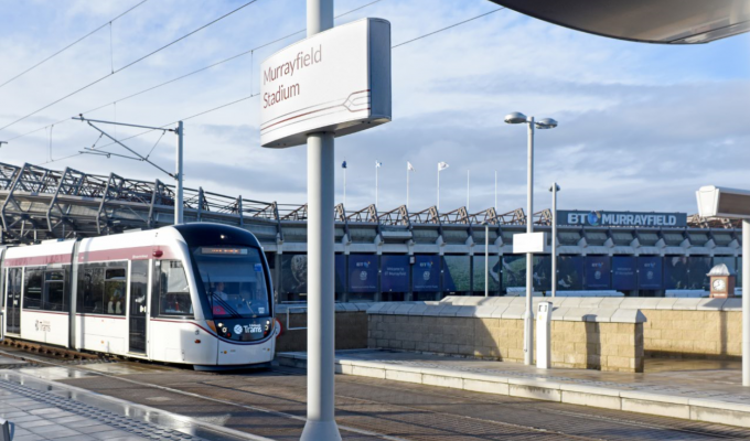 Murrayfield Tram Stop